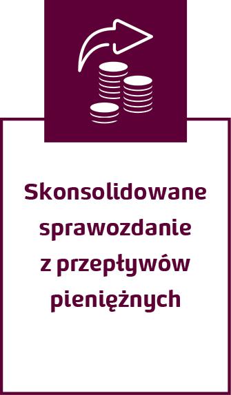 Skonsolidowane sprawozdanie z przepływów pieniężnych